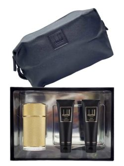 Icon Absolute Gift Set for Men (edP 100ml + Shower Gel + After Shave Balm + Toiletry Bag) by Dunhill