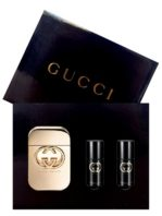 Gucci Guilty Gift Set for Women (edT 75ml + Body Massage Oil + Body Massage Oil) by Gucci