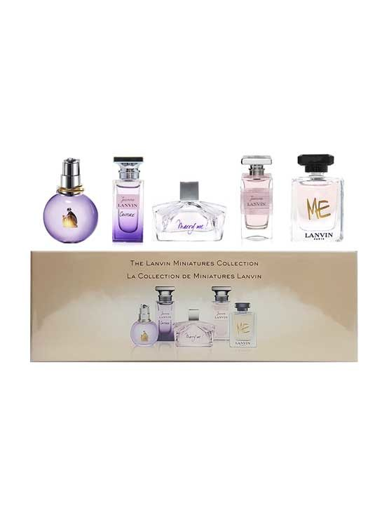 Miniature Collection for Women, set of 5pcs (Eclat D'Arpege 5ml + Jeanne Lanvin Couture 4.5ml + Marry Me! 4.5ml + Jeanne Lanvin 4.5ml + Me 4.5ml) by Lanvin