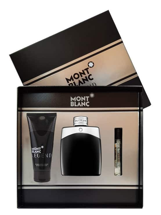 Legend Gift Set for Men (edP 100ml + After Shave Balm + edP 7.5ml) by Mont Blanc