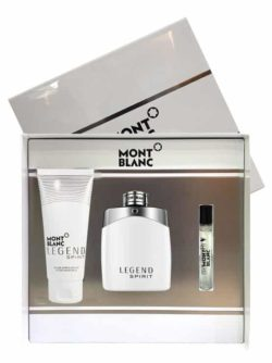 Legend Spirit Gift Set for Men (edT 100ml + After Shave Balm + edT 7.5ml) by Mont Blanc