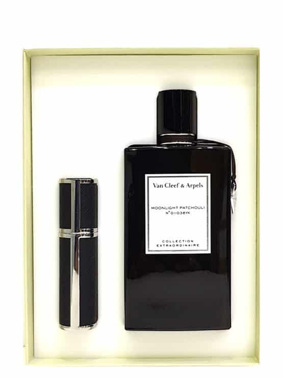 Moonlight Patchouli Collection Extraordinaire Gift Set for Men and Women (Unisex) (edP 75ml + Travel Spray 5ml) by Van Cleef & Arpels