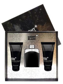 Legend Gift Set for Men (edT 100ml + After Shave Balm + All Over Shower Gel) by Mont Blanc