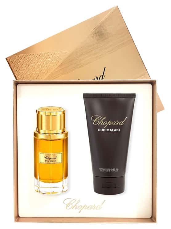 Oud Malaki Gift Set for Men (edP 80ml + Shower Gel 150ml) by Chopard