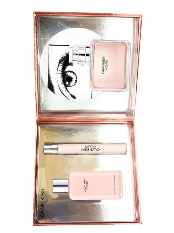 Women Gift Set for Women (edP 100ml + Body Lotion 100ml + edP 10ml) by Calvin Klein