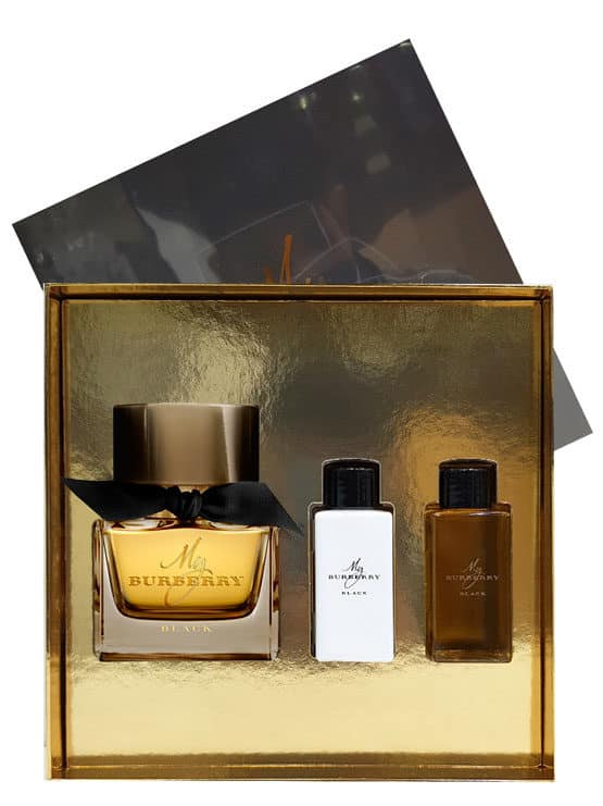 My Burberry Black Gift Set for Women (edP 90ml + Body Lotion + Shower Gel) by Burberry
