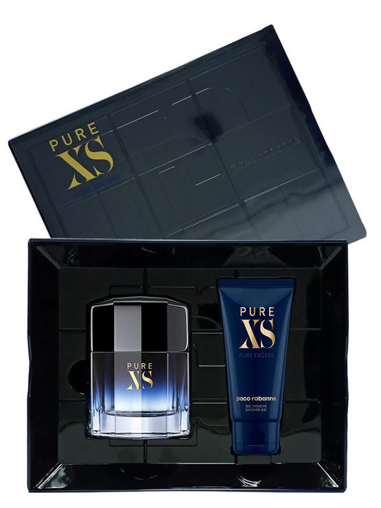Pure XS Gift Set for Men (edT 100ml + Shower Gel) by Paco Rabanne