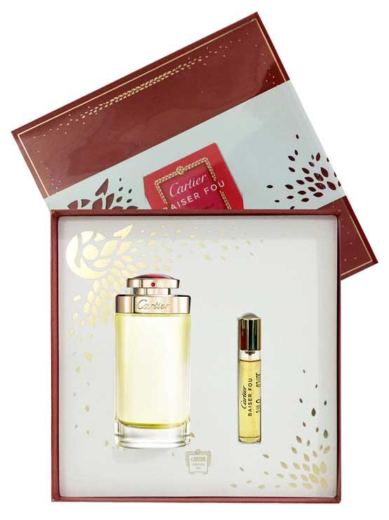 Baiser Fou Gift Set for Women (edP 75ml + edP 9ml) by Cartier