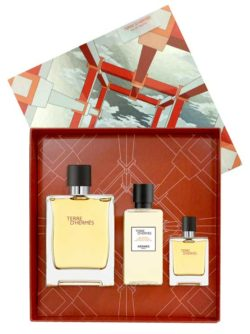 Terre D'Hermes Gift Set for Men (edT 100ml + edT 12.5ml + Hair & Body Shower Gel 80ml) by Hermes