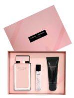 Narciso Rodriguez Gift Set for Women (edP 100ml + edP 10ml + Her Body Lotion 75ml) by Narciso Rodriguez