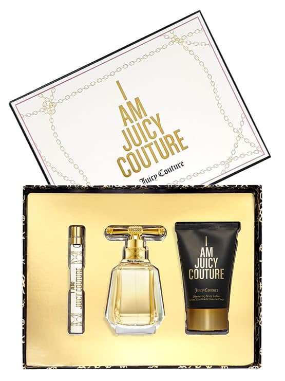 I Am Juicy Couture Gift Set for Women (edP 100ml + edP 10ml + Shimmering Body Lotion 125ml) by Juicy Couture