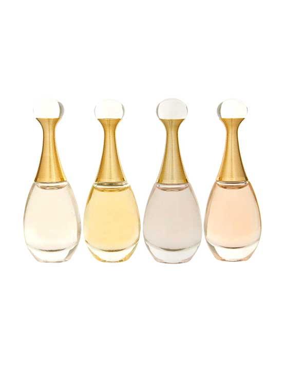 Jadore Miniature Collection for Women (L'Absolu 5ml, Jadore edP 5ml, Jadore edT 5ml, Jadore in Joy 5ml) by Christian Dior