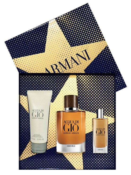 Acqua Di Gio Absolu Gift Set for Men (edP 75ml + edP 15ml + All Over Body Shampoo 75ml) by Giorgio Armani