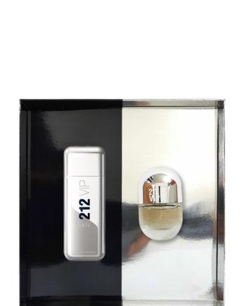 212 Vip Men Gift Set for Men (edT 100ml + NewYorkPills edT 20ml) by Carolina Herrera